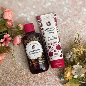 Bath and body works bbw chocolate covered cherry